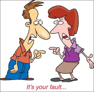 stop blaming your partner