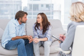 getting professional help for their relationship trust issues